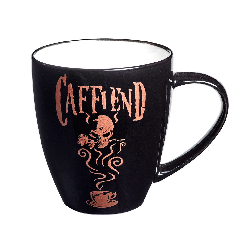 Alchemy Gothic Caffiend Ceramic Mug from Gothic Spirit