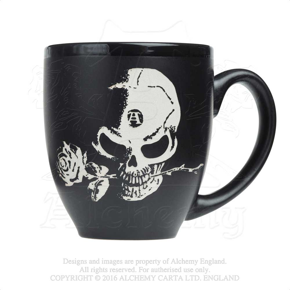 Alchemy Gothic Alchemist Engraved Ceramic Mug from Gothic Spirit