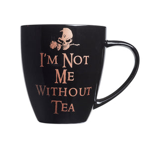 Alchemy Gothic Not Me Without Tea Ceramic Mug from Gothic Spirit