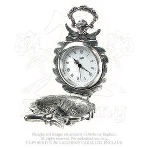 Alchemy Gothic The Nevermore Fob Watch from Gothic Spirit