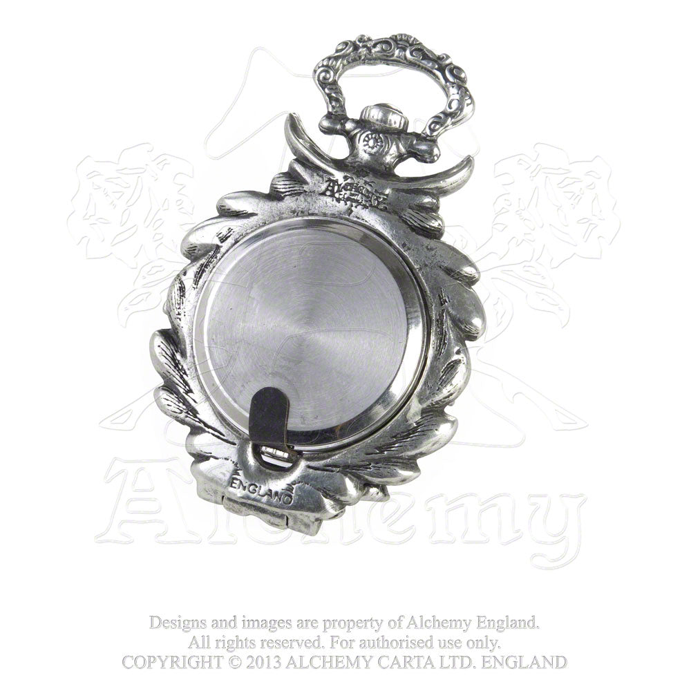 Alchemy Gothic The Nevermore Fob Watch - Gothic Spirit