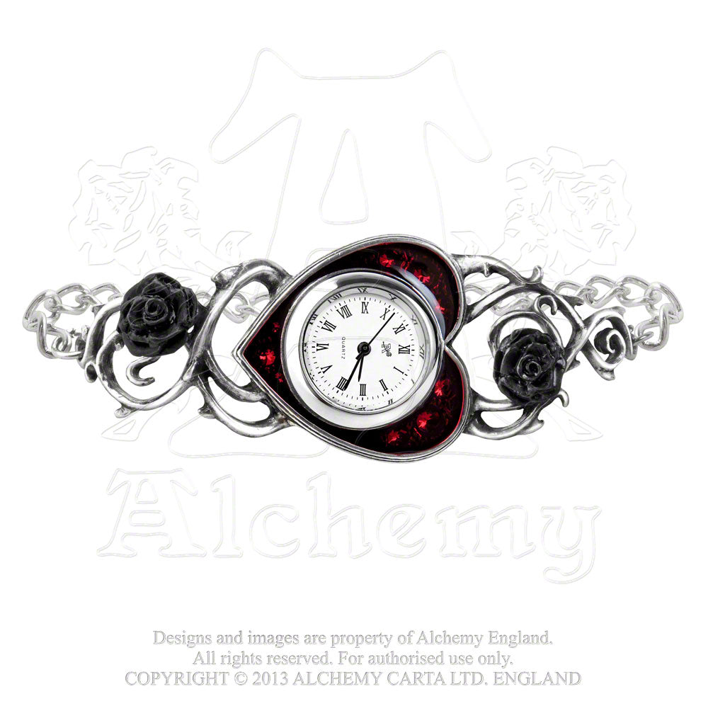 Alchemy Gothic Bed Of Blood Roses Watch from Gothic Spirit