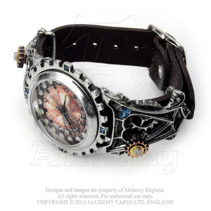 Alchemy Empire: Steampunk Telford Chronocogulator Timepiece Watch from Gothic Spirit