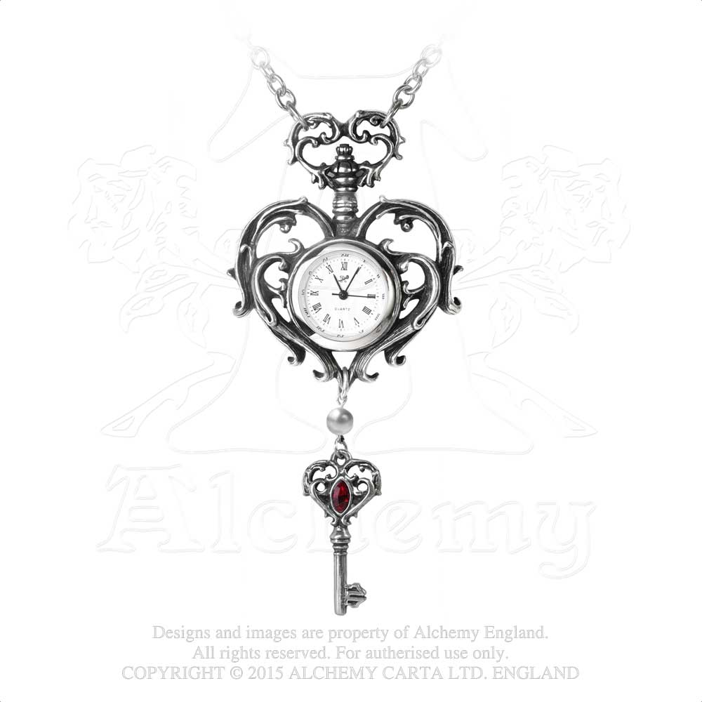 Alchemy Gothic Temp de Sentiment Fob Watch - Gothic Spirit