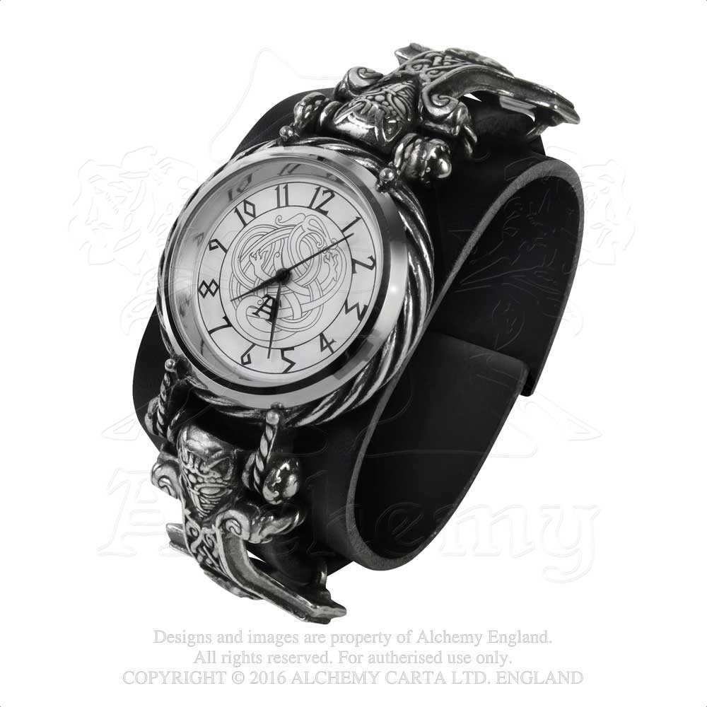 Alchemy Gothic Thorgud Ulvhammer Watch from Gothic Spirit