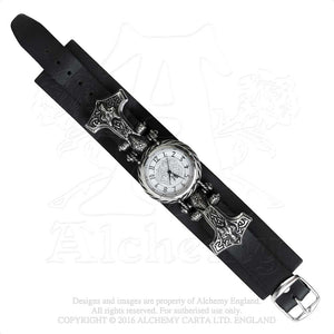 Alchemy Gothic Thorgud Ulvhammer Watch - Gothic Spirit