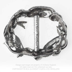 Alchemy Gothic Viper's Nest Belt Buckle from Gothic Spirit