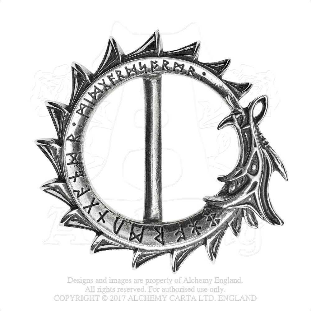 Alchemy Gothic Jormungand Belt Buckle from Gothic Spirit