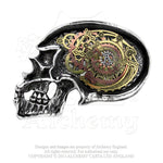 Alchemy Empire: Steampunk Anima Machinato Futurus Belt Buckle - Gothic Spirit