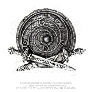 Alchemy Gothic Warband Belt Buckle - Gothic Spirit