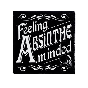 Alchemy Gothic Feeling Absinthe Minded Coaster from Gothic Spirit