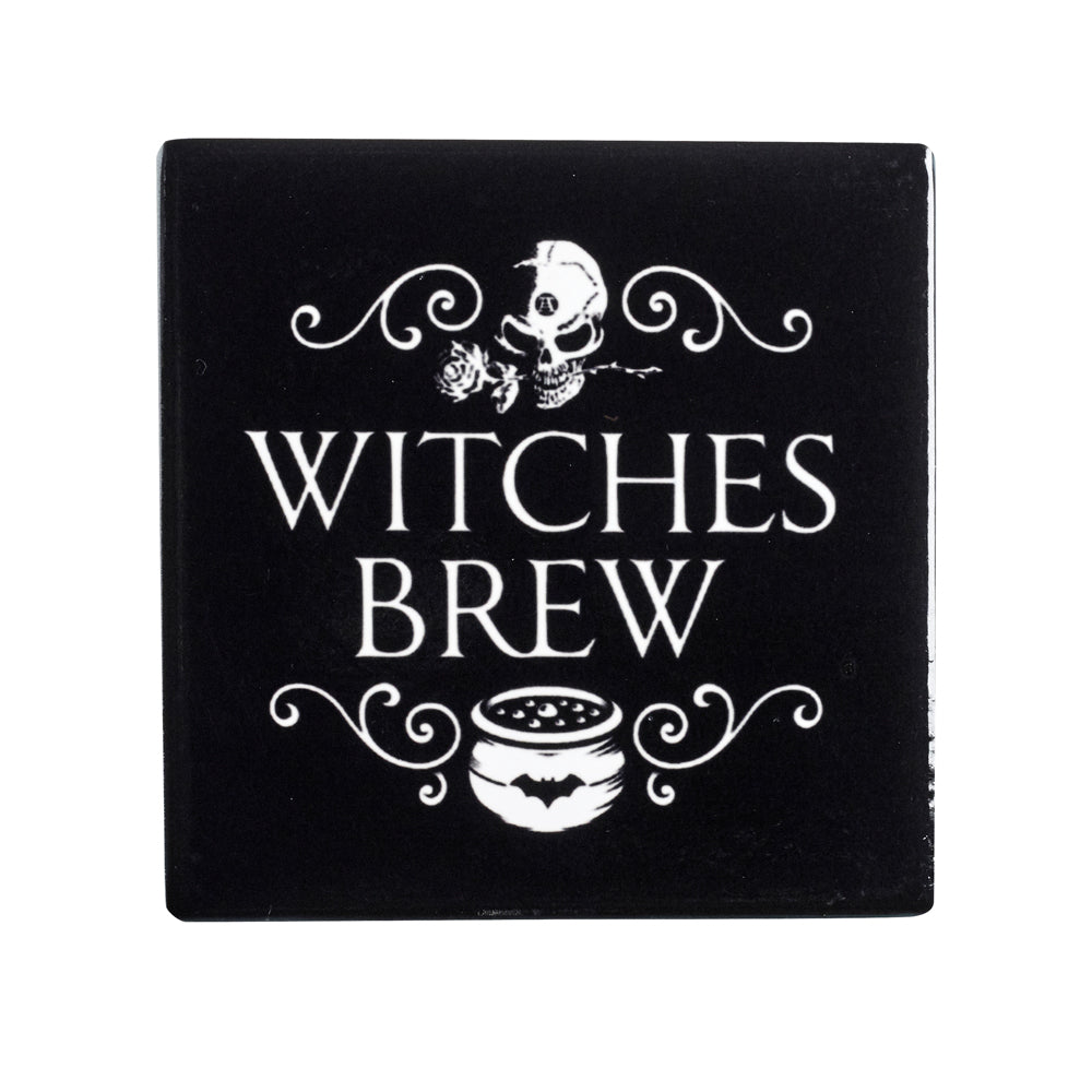 Alchemy Gothic Witches Brew Coaster from Gothic Spirit