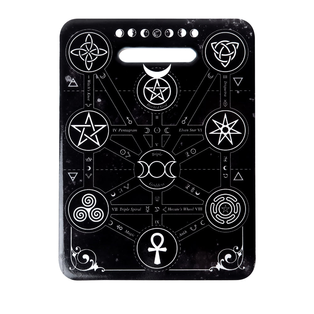 Alchemy Gothic Magic Symbols Trivet/Chopping board from Gothic Spirit