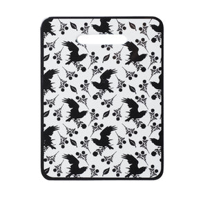 Alchemy Gothic Raven & Rose Trivet/Chopping board
