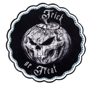 Alchemy Gothic Trick or Treat Trivet/Chopping board from Gothic Spirit