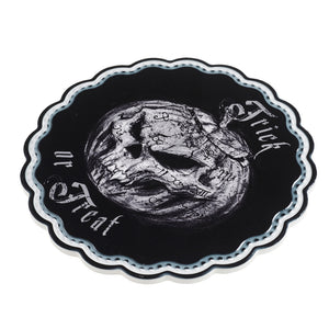 Alchemy Gothic Trick or Treat Trivet/Chopping board