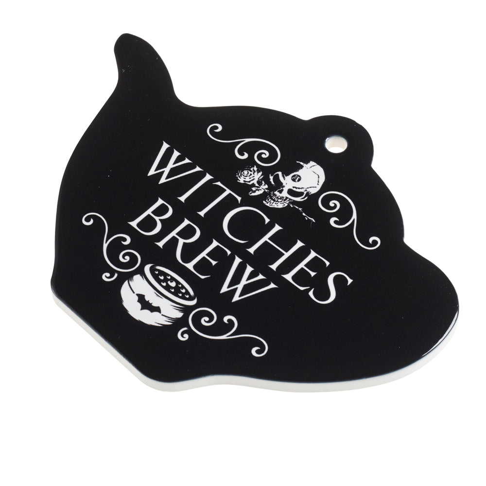 Alchemy Gothic Witches Brew Trivet/Chopping board