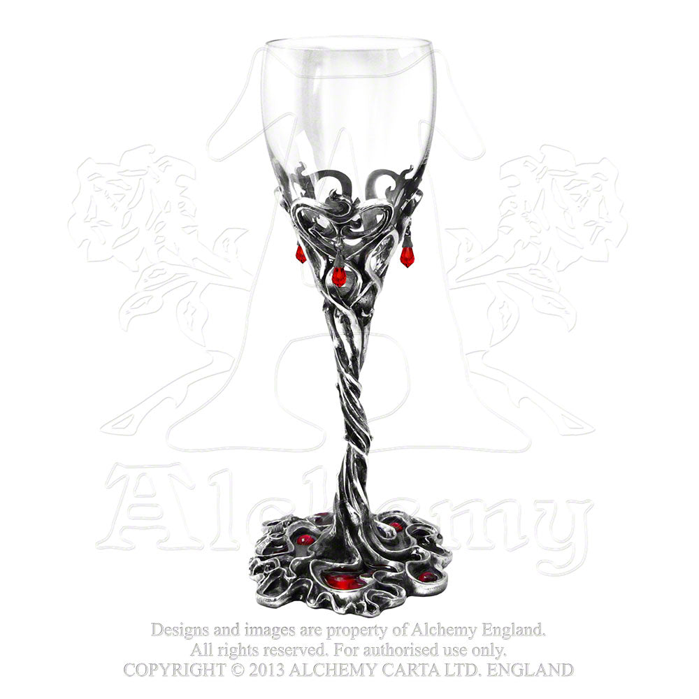 Alchemy Gothic Evening With A Vampire Wine Glass from Gothic Spirit