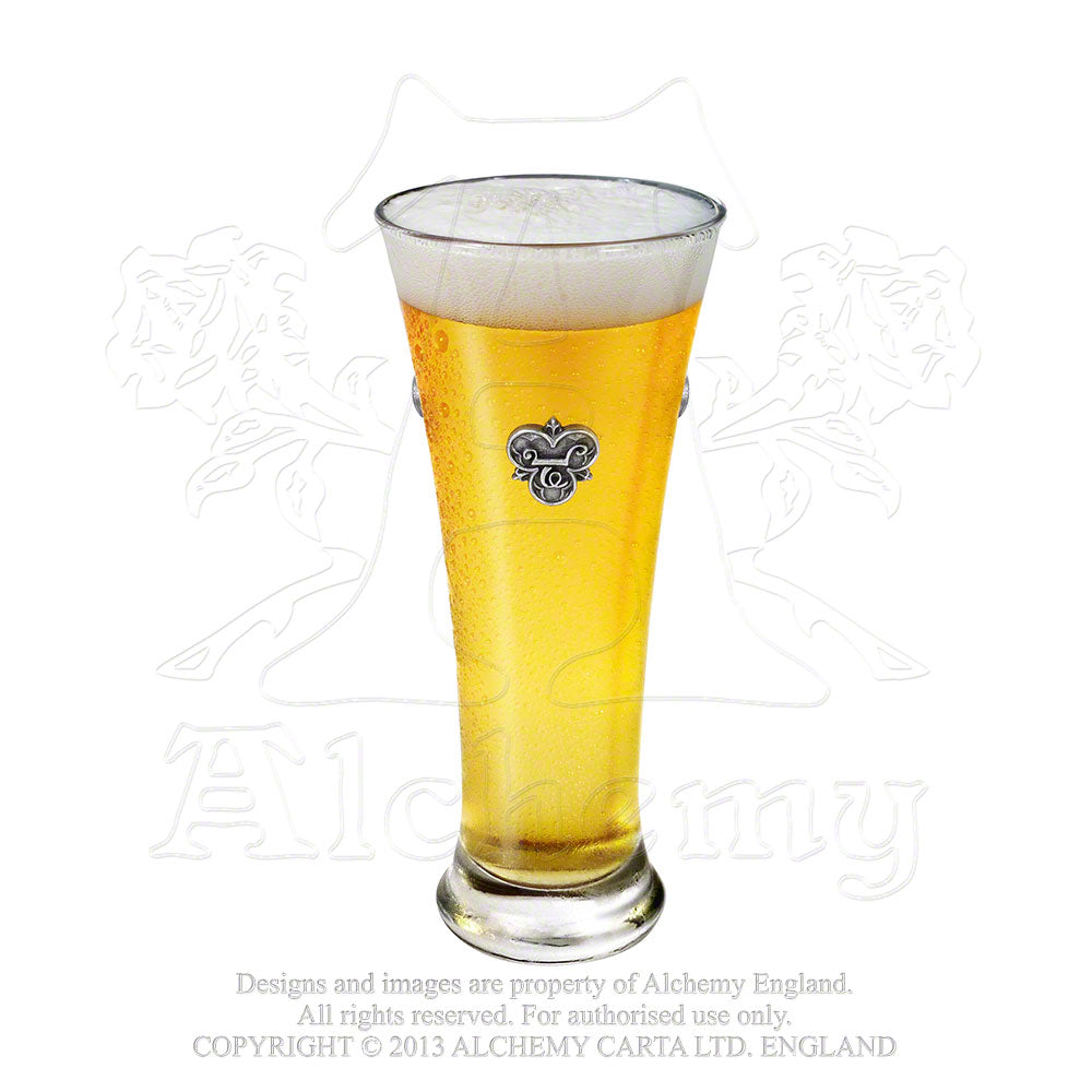 Alchemy Gothic The Alchemy of Beer Ale Glass from Gothic Spirit
