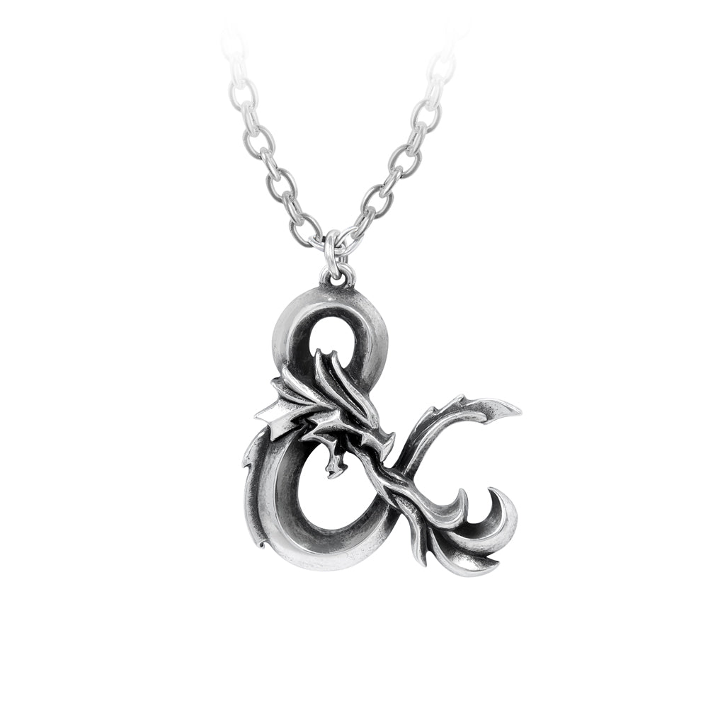 Alchemy Gothic Dungeons & Dragons Logo Pendant from Gothic Spirit