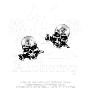 Alchemy Gothic Alchemist Pair of Earrings from Gothic Spirit