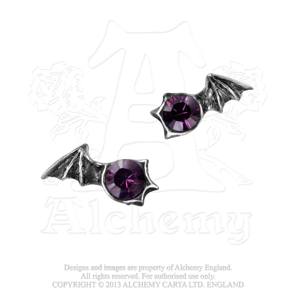 Alchemy Gothic Matins Pair of Earrings from Gothic Spirit