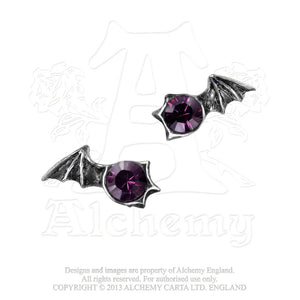 Alchemy Gothic Matins Pair of Earrings - Gothic Spirit
