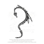 Alchemy Gothic The Dragon's Lure (Left Ear) Ear Wrap - Gothic Spirit