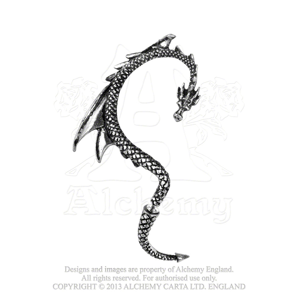 Alchemy Gothic The Dragon's Lure Ear Wrap - Gothic Spirit