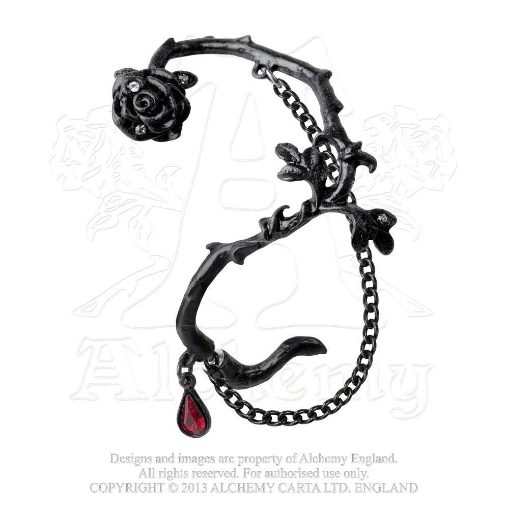 Alchemy Gothic Rose Of Passion Ear Wrap from Gothic Spirit