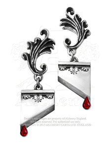Alchemy Gothic Marie Antoinette Pair of Earrings from Gothic Spirit