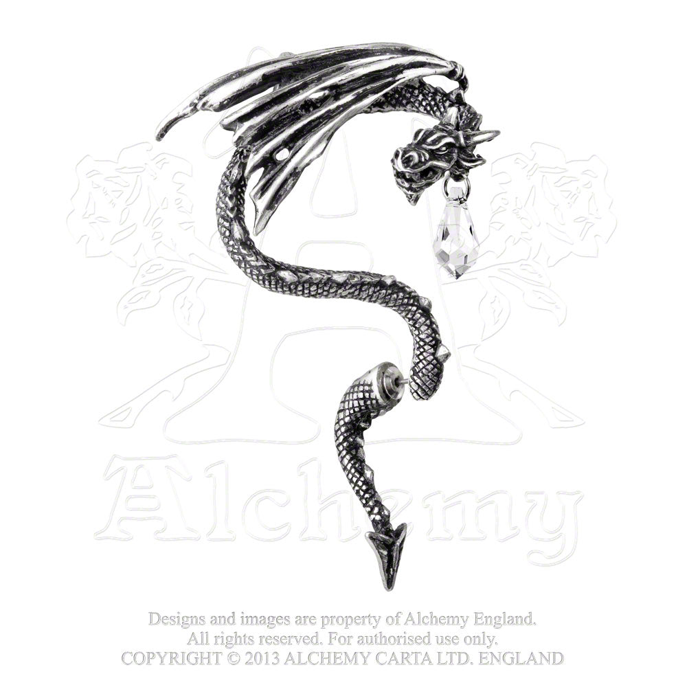 Alchemy Gothic Crystal Dragon Ear Wrap from Gothic Spirit