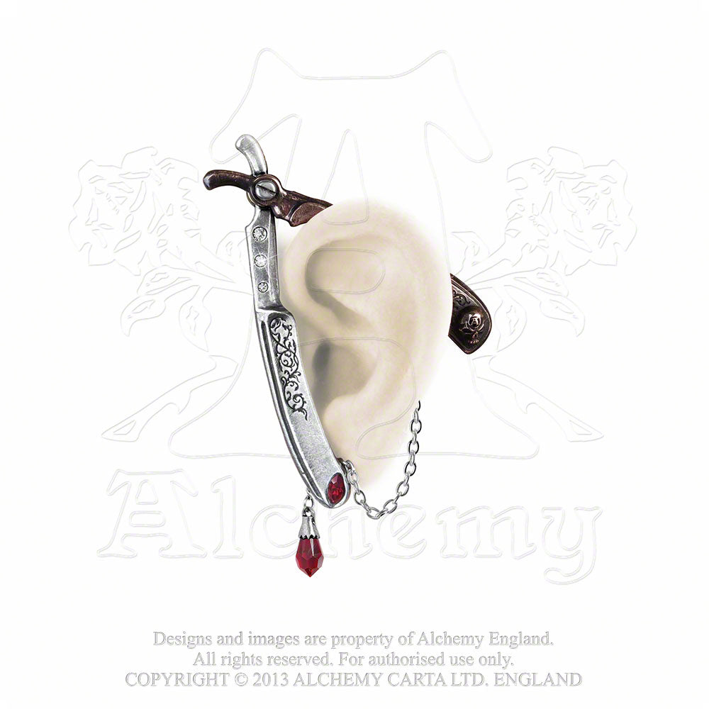Alchemy Gothic Cut Throat Ear Wrap from Gothic Spirit