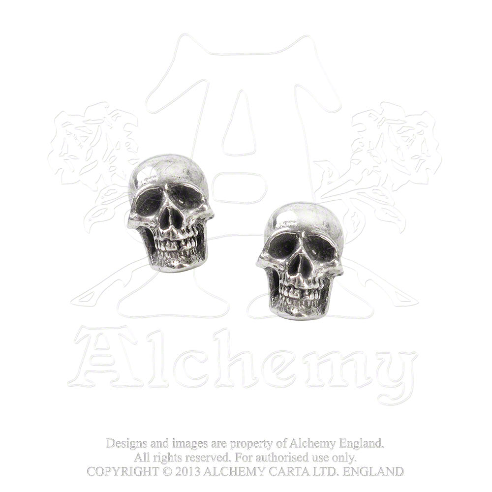 Alchemy Gothic Mortaurium Pair of Earrings - Gothic Spirit