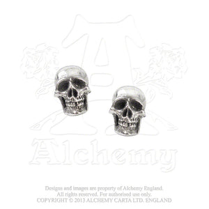 Alchemy Gothic Mortaurium Pair of Earrings from Gothic Spirit