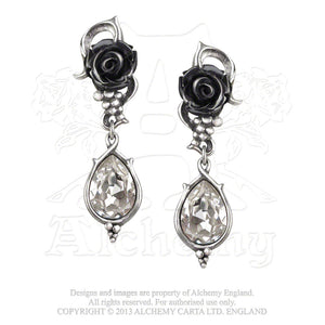 Alchemy Gothic Bacchanal Rose Pair of Earrings from Gothic Spirit