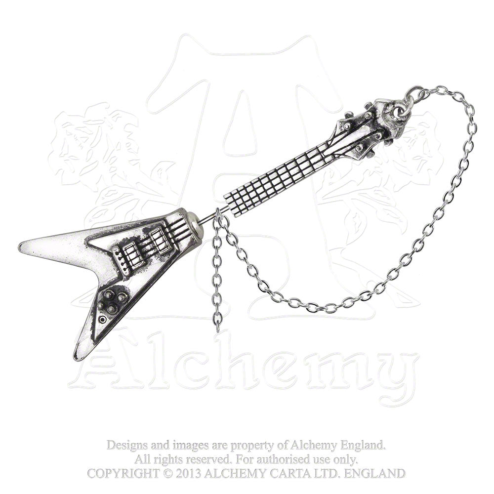 Alchemy Gothic Shredder's Axe Faux Ear Stretcher Earring from Gothic Spirit