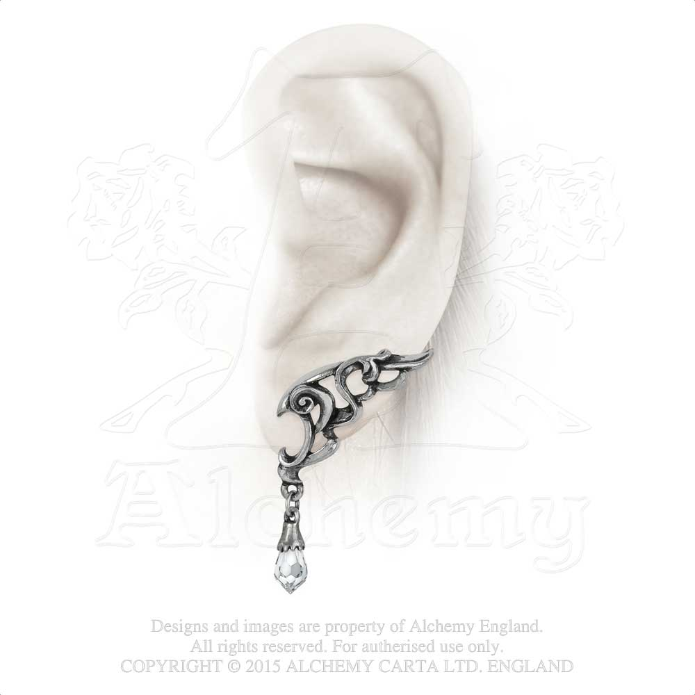 Alchemy Gothic Wings of Eternity Pair of Earrings from Gothic Spirit