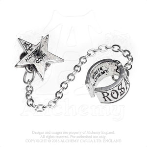Alchemy Gothic Rosa Nocta Single Earring - Gothic Spirit