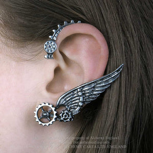 Alchemy Empire: Steampunk Icarus Ear Wrap - Gothic Spirit