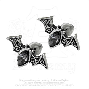 Alchemy Gothic Viennese Nights Pair of Earrings - Gothic Spirit