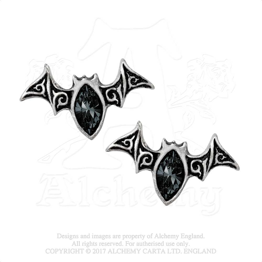 Alchemy Gothic Viennese Nights Pair of Earrings from Gothic Spirit