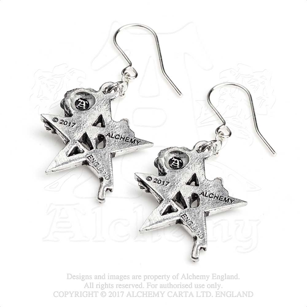 Alchemy Gothic Ruah Vered Pair of Earrings from Gothic Spirit