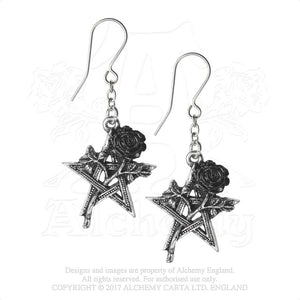 Alchemy Gothic Ruah Vered Pair of Earrings - Gothic Spirit
