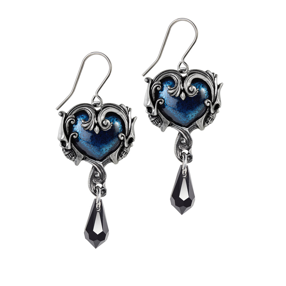Alchemy Gothic Affaire du Coeur Pair of Earrings from Gothic Spirit