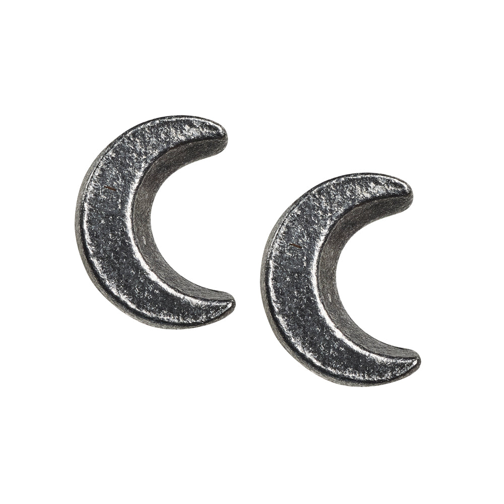 Alchemy Gothic Sickle Moon Pair of Earrings from Gothic Spirit