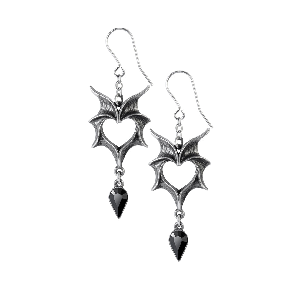 Alchemy Gothic Love Bats Pair of Earrings from Gothic Spirit