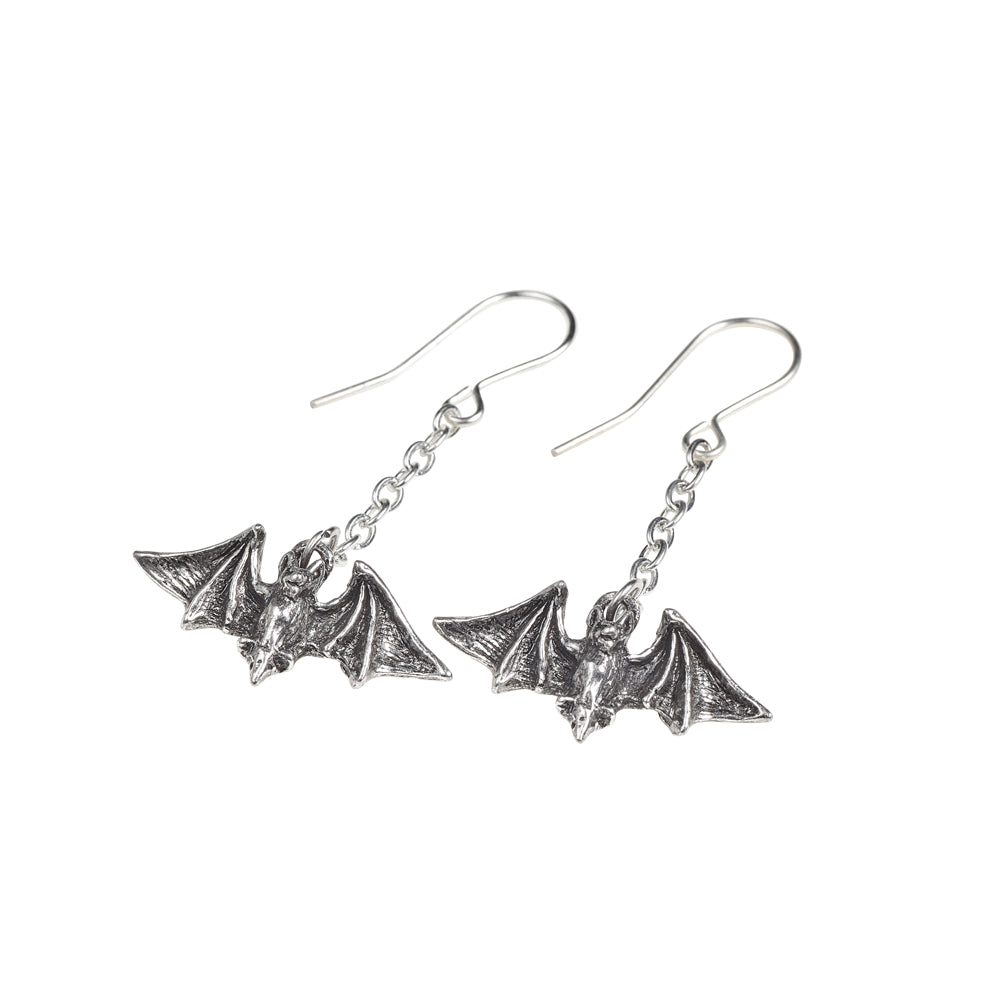 Alchemy Gothic Kiss The Night Pair of Earrings from Gothic Spirit