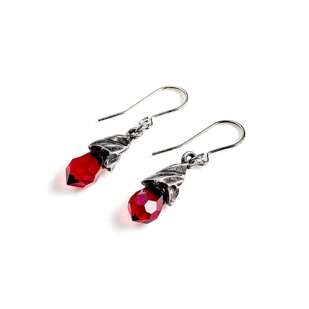 Alchemy Gothic Empyrean Tear Droppers Pair of Earrings from Gothic Spirit