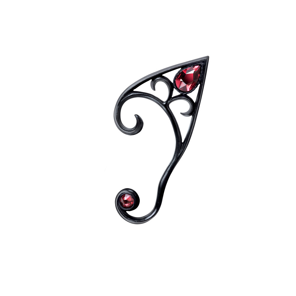 Alchemy Gothic Elvyn Earwrap (Black) (Left Ear) Ear Wrap from Gothic Spirit
